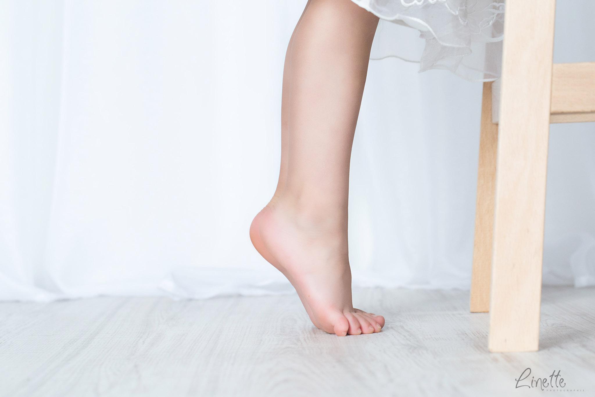 pointe de pieds