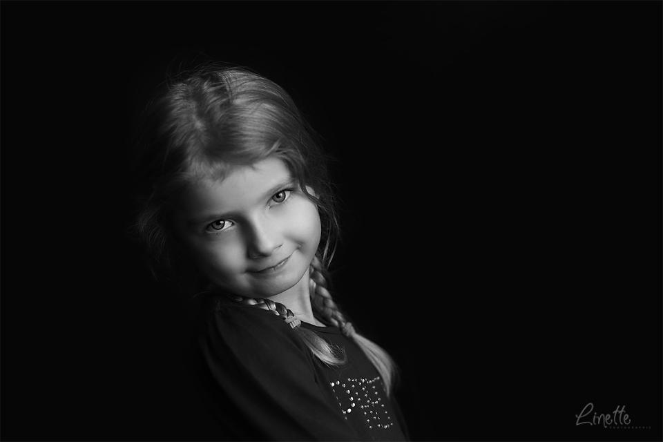 Linette Photographie - portrait petite fille